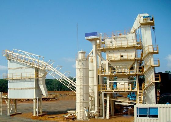 China 380V 3P AMP 2000 - C cold mix asphalt plant With 423KW Power supplier