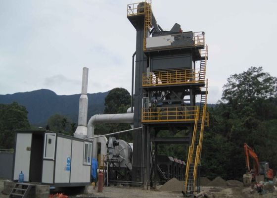 China 100TPH Complete Set Stationary Asphalt Mixing Plant with Vibrating screen supplier