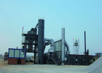 China 160TPH Complete Set PLC Control Bitument asphalt mix plant 50Tons Finished Storge Bin supplier