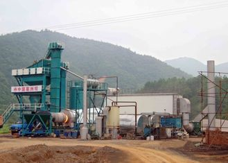 China 255KW Fixed Type Asphalt Mixing Plant With 32CBM Cold Feeding Bin And Weight System supplier