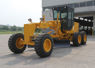 China 130HP 713H grader heavy equipment , road maintainer grader 12000KG Operating Weight supplier