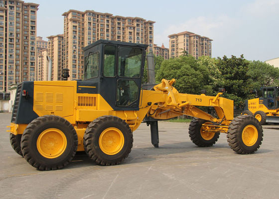 China CHANGLIN 713H 12 Tons Motor Grader Machine With Air Conditioner For Road Leveling supplier