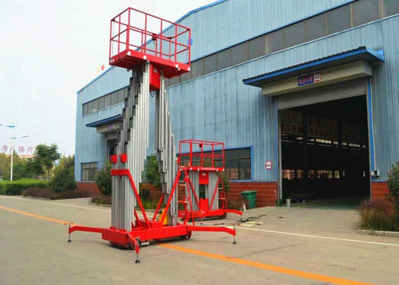 China 6M - 12M Hydraulic Boom Lift , mobile aerial platform 200KG Rated Capacity supplier