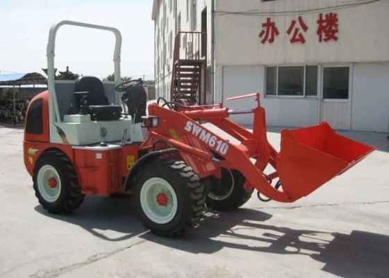 China Mini agriculture SWM610 Front End Wheel Loader With European Standard supplier