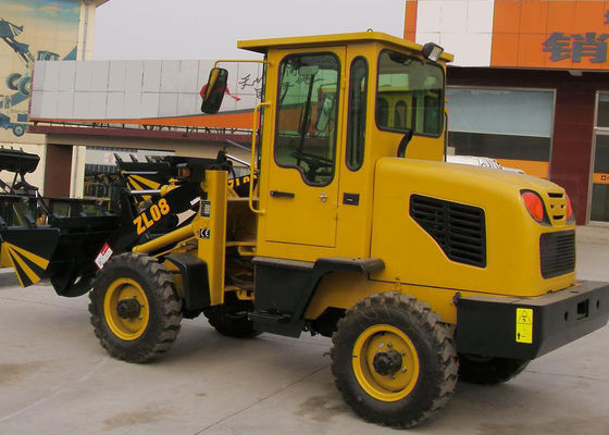 China ZL08F Classic Style Garden Front End Wheel Loader Electrical starting engine supplier