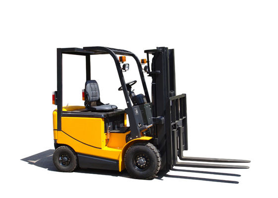 China AC Motor battery operated forklift , material handling forklift 3500Kg Rated Capacity supplier