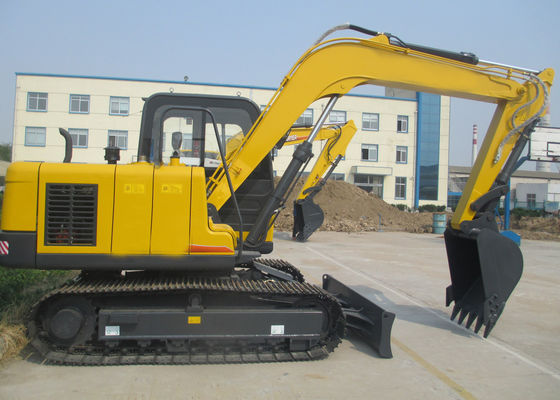 China 8200KGS Excavator Equipment Rental With Cummins Diesel Engine / KYB Hydraulic Parts supplier