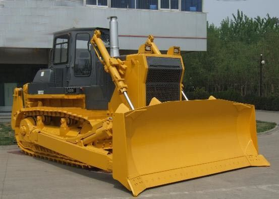China 120 KW Crawler Bulldozer , Dozer Vehicle With 1095 Mm Blade Lift Height supplier