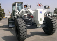 China ZF Transmission Road Construction Compact Motor Grader Rental With 15000kg Operating Weight factory