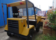 China 1500kgs Site Works Concrete Dumper with 11KW Diesel Engine And  Hydraulic Tipping Hopper 2WD factory
