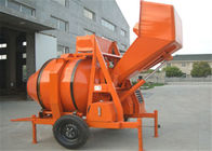China Single Cylinder Hydraulic Cement Concrete Mixer Machine for Prefabricated Concrete Construction factory