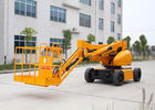 China 10M Electric Powered Articulated Hydraulic Boom Lift With 200KG Lifting Capacity Trojan Battery factory