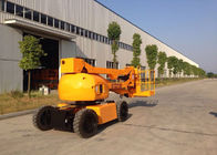 China 12M Articulated Boom Cherry Picker Truck for 7.6M Max Horizontal Reach Aerial Operation factory