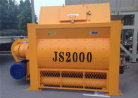 2000L Twin Shaft Forced Concrete Mixer Machine  With 3200L Loading Capacity 100 M3 / H Capacity