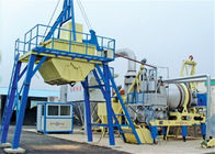 China 1000kgs Asphalt Output Mobile Asphalt Drum Mix Plant , 20TPH Asphalt Concrete Plant factory