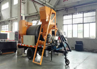 China 0.2M3 / Barrel Feed Port Capacity Asphalt Processing Plant With Material Lifting System factory