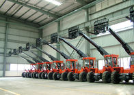 China Diesel Engine Power 3.5 ton Telescopic Boom Forklift  With 3620MM Max Forward Reach factory