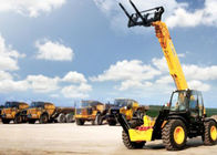 Diesel XCMG Telescopic Boom Forklift , 82KW Engine Power Rough Terrain Forklift