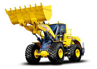 9 Ton Compact Utility Heavy Wheel Loader With Bucket Capacity 5~6 m3