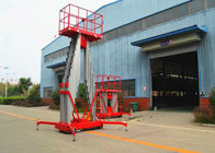 6M - 12M Hydraulic Boom Lift , mobile aerial platform 200KG Rated Capacity