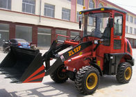 Zl12F - E Euro III Engine articulated wheel loader machine 0.6m3 Bucket , 1.2t Rated Loading
