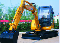 China Yanmar Engine Mini Hydraulic Attachments Excavators 5530 Mm Max Digging Reach factory