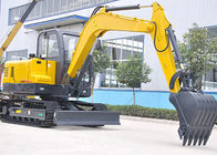High Efficiency Excavator Heavy Equipment With 3245mm Digging Radius 45kw