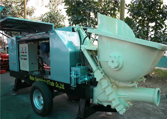 Electric Small Portable Hydraulic Concrete Pump 40m3 H