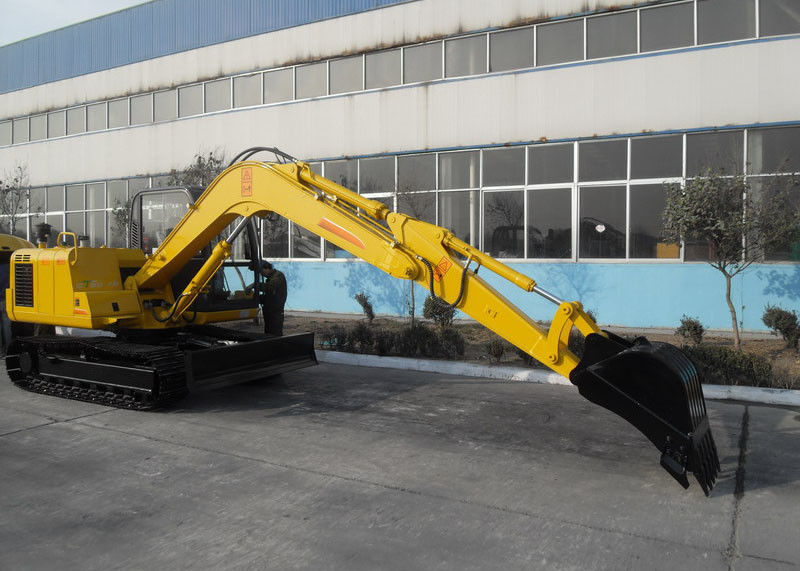 Heavy Equipment Excavator Swing Speed 11RPM , Long Reach Excavators