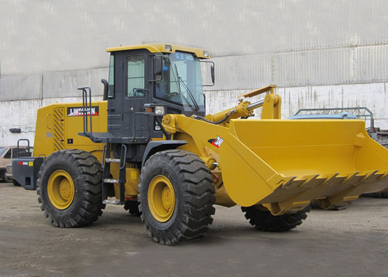China Weichai Engine XCMG Front End Wheel Loader 5000KG Rated Load 3CBM Bucket distributor