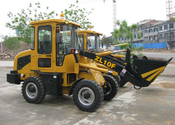 China Rigid Steel Structure Mini Wheel Loader with 1000kg Rated Load 0.5 m3 Bucket Capacity distributor