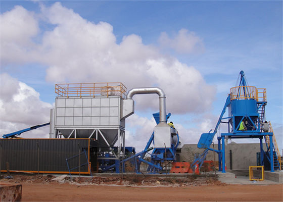 China Counter - Clockwise Direction Drum Rotate Asphalt Mixing Plant with Drying Mixing Integrated Design factory