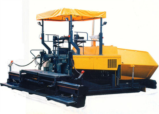 Asphalt Concrete Paver Laying Machine for 6.0m Paving Width 150 mm Thicknes Road Paving