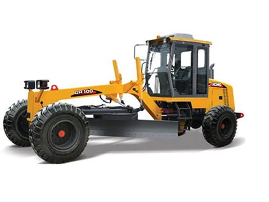 China 3 Section Driving Axle Heavy Equipment Grader ,  Hydraulically Controlled Road Grader Rental distributor