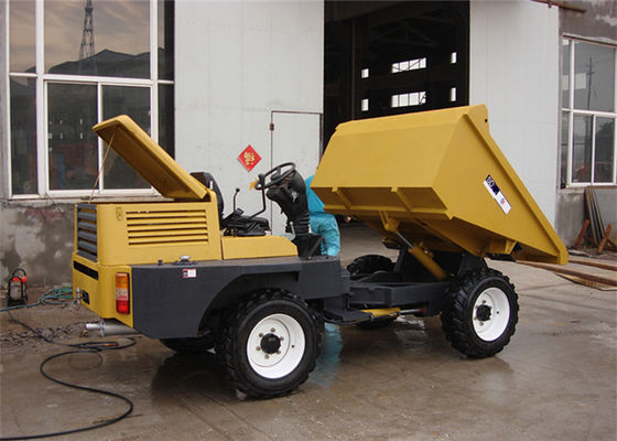 China 2WD Diesel Mini Concrete 2 Tonne Dumper For Site Works / Municipal Engineering / Underground Mines distributor