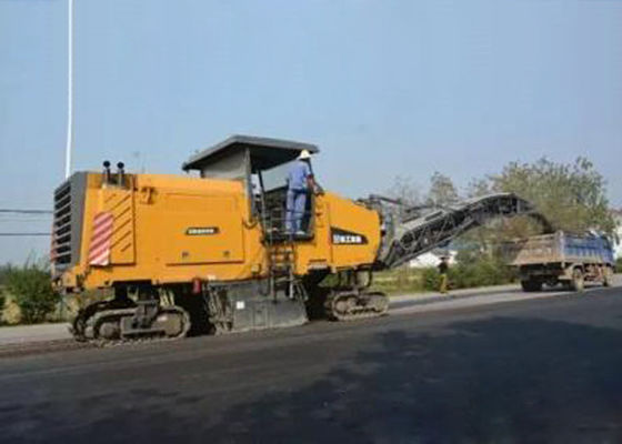 China 2M Cold Milling Heavy Duty Road Construction Equipment  For Highway Maintence distributor