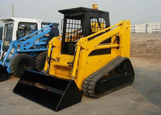 China Direct Injection 4 Stroke Diesel Engine Tracked Skid Steer , Crawler Compact Skid Steer factory