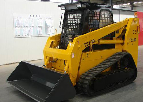 China 0.6 - 0.7 m3 Bucket Capacity Crawler Skid Steer Loader for Engineering Construction factory
