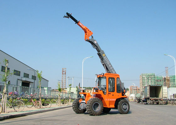 China Astern Radar Telescopic Boom Forklift For Construction Spots / Ports / Public Works distributor