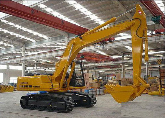 China Hydraulic Heavy Equipment Excavator SC200.8 With Closed Cab 108kw Cummins Diesel Engine distributor