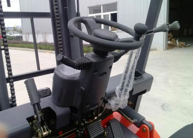 Automatic Transmission Power Lift Forklift , Industrial Pallet Handling Equipment