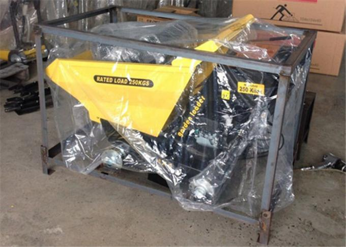 Chain Drive 4WD Gasoline Engine Small Concrete Dumper For Site Works Loading Transportation