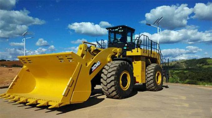 Low Emission Cummins Engine Heavy Front End XCMG Wheel Loader LW1200KN