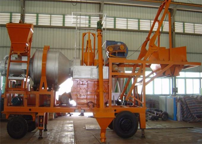 Adjustable Temperature Asphalt Batching Plant For Highway / Airport / Runway Construction