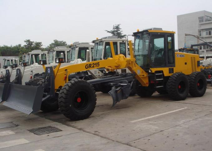 XCMG 215HP Motor Grader Machine GR215 With 450mm Max. Lift Above Ground  And Front Blade