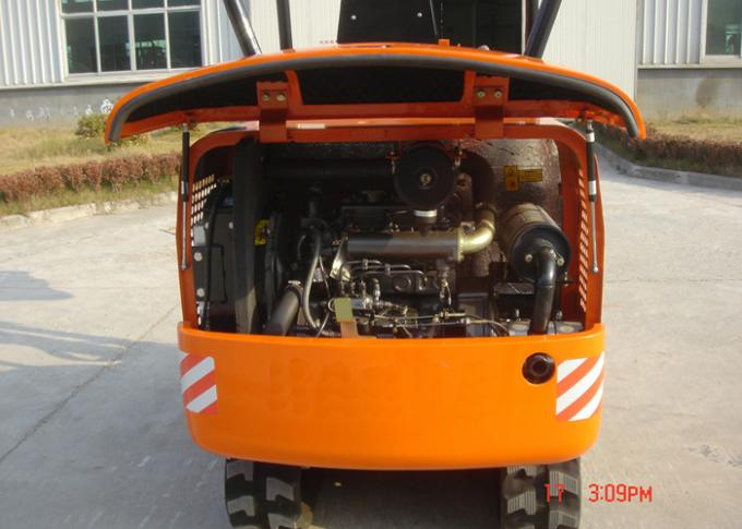 Diesel Hydraulic Crawler Excavator with 15.5KW Kubota Diesel Engine