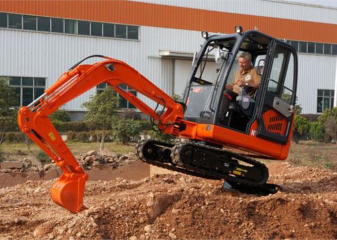 Crawler Heavy Equipment Excavator 2920mm Max Dumping Height 1865mm Min Swing Radius