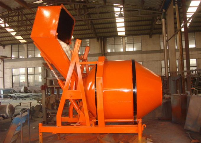 Wire Hoisting Tipping Hopper Portable Electric Concrete Mixers for Mixing Damp Dry Rigid Concrete
