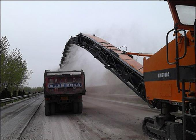 1 3M Cold Milling Machine , 15 8Ton Operating Weight Asphalt