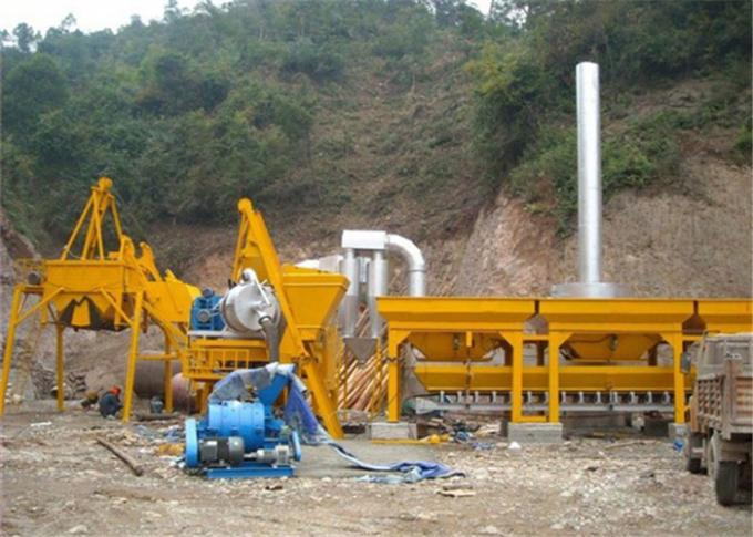 Auto Manual Switchable Mobile Asphalt Mixing Plant for Bitumen / Aggregate Material